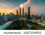 kuala lumpur  malaysia  ... | Shutterstock . vector #1007234032