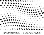 abstract halftone wave dotted... | Shutterstock .eps vector #1007237656