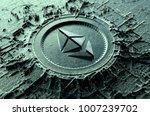 a microscopic closeup concept... | Shutterstock . vector #1007239702