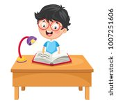vector illustration of kid... | Shutterstock .eps vector #1007251606