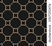 golden abstract pattern in... | Shutterstock .eps vector #1007252476