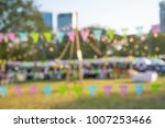 abstract blur people in day... | Shutterstock . vector #1007253466