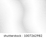 abstract halftone wave dotted... | Shutterstock .eps vector #1007262982