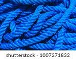 Blue Rope Polypropylene Textur...
