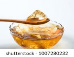 cool jelly and jelly fruit  ... | Shutterstock . vector #1007280232