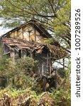 Old Or Vintage Abandoned Ruine...