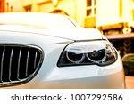 Luxury White Car Head Lamp....