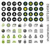 finance icons set | Shutterstock .eps vector #1007314582