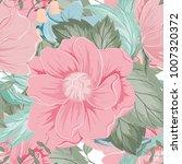 spring flower seamless pattern...   Shutterstock .eps vector #1007320372