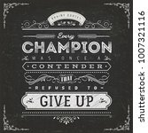business and sport motivation... | Shutterstock .eps vector #1007321116