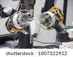 industry 4.0 robot concept .the ... | Shutterstock . vector #1007322922