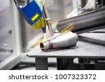 industry 4.0 robot concept .the ... | Shutterstock . vector #1007323372