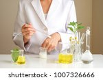 the scientist dermatologist... | Shutterstock . vector #1007326666