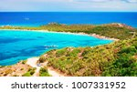 punta coda cavallo seen from... | Shutterstock . vector #1007331952