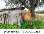 weather shelter on the fields...   Shutterstock . vector #1007336266