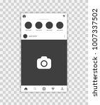 photo frame vector illustration ... | Shutterstock .eps vector #1007337502