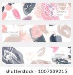 hand drawn creative universal... | Shutterstock .eps vector #1007339215