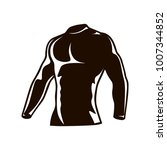 compression men suit run ... | Shutterstock .eps vector #1007344852