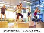 fitness  sport  training and... | Shutterstock . vector #1007355952