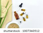 aloe vera plant  natural... | Shutterstock . vector #1007360512