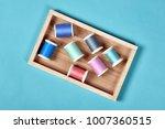 pastel  color background thread ... | Shutterstock . vector #1007360515