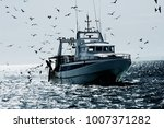 professional fisherboat many... | Shutterstock . vector #1007371282