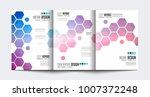 brochure template  flyer design ... | Shutterstock .eps vector #1007372248