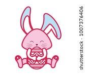 happy easter design   Shutterstock .eps vector #1007376406