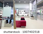 bright and fashionable interior ... | Shutterstock . vector #1007402518