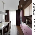 beautiful and model interior of ... | Shutterstock . vector #1007403235