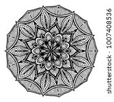 mandalas for coloring book.... | Shutterstock .eps vector #1007408536