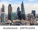 skyscrapers in london | Shutterstock . vector #1007411656