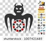 roulette spectre devil icon...