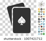 peaks playing cards pictograph...