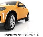sport car isolated on white | Shutterstock . vector #100742716