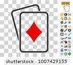 diamonds gambling cards...