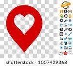 heart casino marker pictograph...
