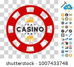 royal casino chip pictograph...