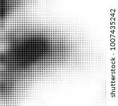 halftone black and white....   Shutterstock .eps vector #1007435242