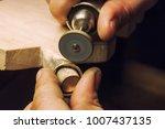 craft jewelery making. ring... | Shutterstock . vector #1007437135