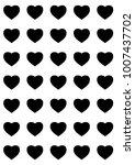 hearts designs for valentine's... | Shutterstock .eps vector #1007437702