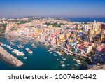 procida island colorful town... | Shutterstock . vector #1007460442