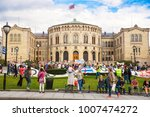 oslo  norway august 13  2014 ... | Shutterstock . vector #1007474272