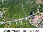 aerial view of the djurdjevica... | Shutterstock . vector #1007474656