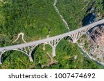 aerial view of the djurdjevica... | Shutterstock . vector #1007474692