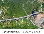 aerial view of the djurdjevica... | Shutterstock . vector #1007474716