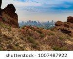 arizona hiking and outdoors  ...   Shutterstock . vector #1007487922