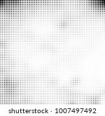 halftone black and white.... | Shutterstock .eps vector #1007497492