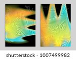 abstract cover template with... | Shutterstock .eps vector #1007499982