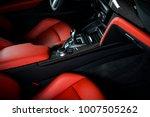 modern luxury car interior  ...   Shutterstock . vector #1007505262